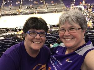 Kelly attended Phoenix Mercury vs. Connecticut Sun - WNBA on Jul 5th 2018 via VetTix