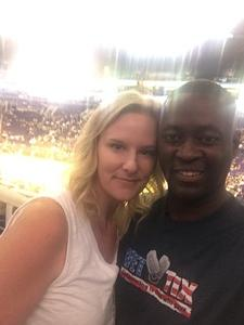 Patrick attended Phoenix Mercury vs. Connecticut Sun - WNBA on Jul 5th 2018 via VetTix