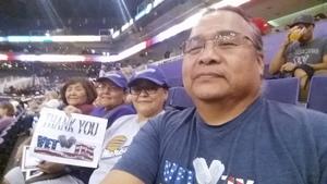 Wil attended Phoenix Mercury vs. Connecticut Sun - WNBA on Jul 5th 2018 via VetTix