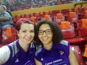 Ingrid attended Phoenix Mercury vs. Chicago Sky - WNBA on Jul 25th 2018 via VetTix