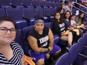 Christina attended Phoenix Mercury vs. Chicago Sky - WNBA on Jul 25th 2018 via VetTix
