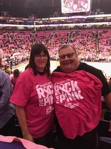 Paul attended Phoenix Mercury vs. Indiana Fever - WNBA on Aug 10th 2018 via VetTix