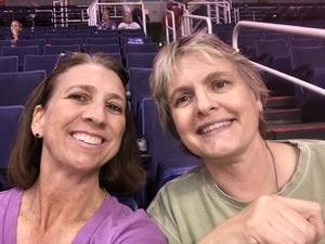 Taime attended Phoenix Mercury vs. Indiana Fever - WNBA on Aug 10th 2018 via VetTix