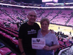Richard attended Phoenix Mercury vs. Indiana Fever - WNBA on Aug 10th 2018 via VetTix
