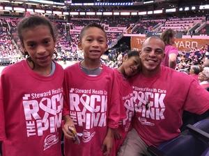 Damien attended Phoenix Mercury vs. Indiana Fever - WNBA on Aug 10th 2018 via VetTix