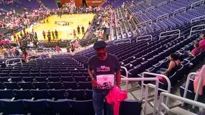 Vernon attended Phoenix Mercury vs. Indiana Fever - WNBA on Aug 10th 2018 via VetTix
