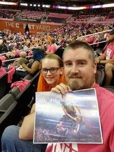 Matthew attended Phoenix Mercury vs. Indiana Fever - WNBA on Aug 10th 2018 via VetTix