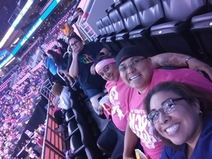 Christina attended Phoenix Mercury vs. Indiana Fever - WNBA on Aug 10th 2018 via VetTix