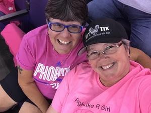Kelly attended Phoenix Mercury vs. Indiana Fever - WNBA on Aug 10th 2018 via VetTix