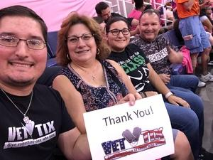David attended Phoenix Mercury vs. Indiana Fever - WNBA on Aug 10th 2018 via VetTix