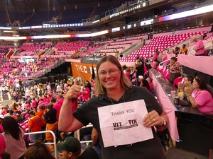 MG attended Phoenix Mercury vs. Indiana Fever - WNBA on Aug 10th 2018 via VetTix