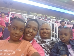 Christine attended Phoenix Mercury vs. Indiana Fever - WNBA on Aug 10th 2018 via VetTix