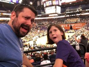 Benjamin attended Phoenix Mercury vs. Indiana Fever - WNBA on Aug 10th 2018 via VetTix
