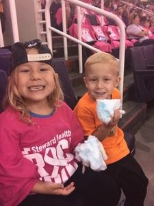 Patrick attended Phoenix Mercury vs. Indiana Fever - WNBA on Aug 10th 2018 via VetTix