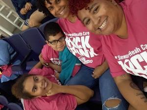 DINA attended Phoenix Mercury vs. Indiana Fever - WNBA on Aug 10th 2018 via VetTix
