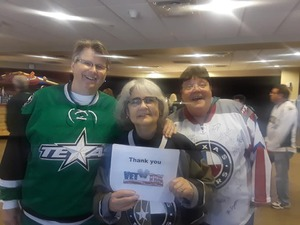 Mindy attended Texas Stars vs. Tucson Roadrunners - Game Five - Second Round Playoffs - AHL on May 11th 2018 via VetTix