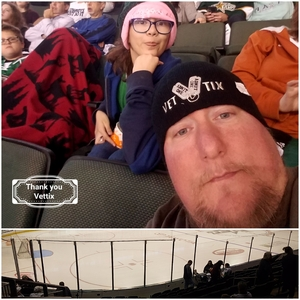 David attended Texas Stars vs. Tucson Roadrunners - Game Five - Second Round Playoffs - AHL on May 11th 2018 via VetTix