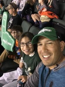 Roberto attended Texas Stars vs. Tucson Roadrunners - Game Five - Second Round Playoffs - AHL on May 11th 2018 via VetTix