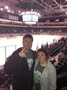 Matthew attended Texas Stars vs. Tucson Roadrunners - Game Five - Second Round Playoffs - AHL on May 11th 2018 via VetTix