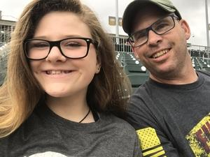 Rob attended Charlotte Knights vs. Indianapolis Indians - MiLB on May 28th 2018 via VetTix