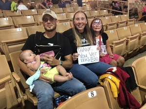 Heather attended Silver Spurs Arena/ Silver Spurs Rodeo on Jun 1st 2018 via VetTix