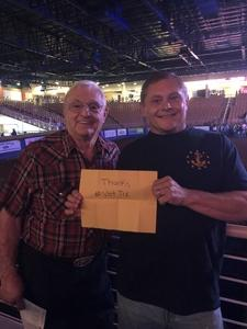 Donald attended Silver Spurs Arena/ Silver Spurs Rodeo on Jun 1st 2018 via VetTix