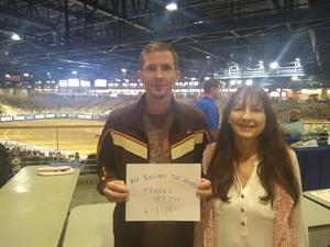 Benjamin attended Silver Spurs Arena/ Silver Spurs Rodeo on Jun 1st 2018 via VetTix