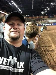 Cory attended Silver Spurs Arena/ Silver Spurs Rodeo on Jun 1st 2018 via VetTix