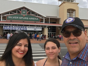 Kenneth attended Silver Spurs Arena/ Silver Spurs Rodeo on Jun 1st 2018 via VetTix