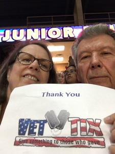 Shannon attended Silver Spurs Arena/ Silver Spurs Rodeo on Jun 2nd 2018 via VetTix