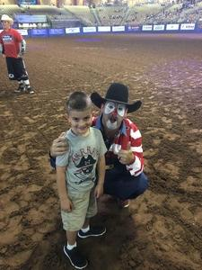 Nate attended Silver Spurs Arena/ Silver Spurs Rodeo on Jun 2nd 2018 via VetTix