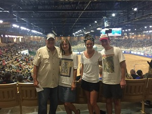 James attended Silver Spurs Arena/ Silver Spurs Rodeo on Jun 2nd 2018 via VetTix