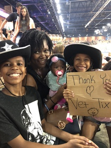 Latonya attended Silver Spurs Arena/ Silver Spurs Rodeo on Jun 2nd 2018 via VetTix