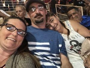 Angela attended Silver Spurs Arena/ Silver Spurs Rodeo on Jun 2nd 2018 via VetTix