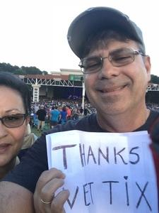 Joseph attended Steely Dan With the Doobie Brothers: the Summer of Living Dangerously on May 11th 2018 via VetTix