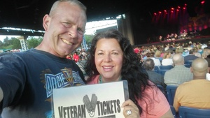 Jon attended Steely Dan With the Doobie Brothers: the Summer of Living Dangerously on May 11th 2018 via VetTix