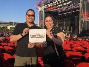 Jesus attended Primus / Mastodon on May 11th 2018 via VetTix