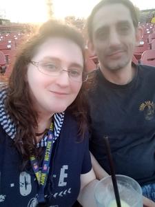 Shannon attended Primus / Mastodon on May 11th 2018 via VetTix