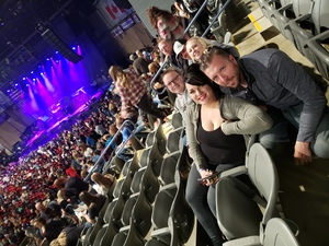 David attended Chris Young Losing Sleep World Tour With Special Guests: Kane Brown and Morgan Evans on May 10th 2018 via VetTix