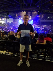 Michael attended Mega 104. 3 Funk Fest With Zapp Band, Rose Royce, Lakeside and Cameo on May 12th 2018 via VetTix