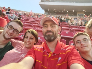Jason attended Kansas City Chiefs vs. Green Bay Packers - NFL Preseason on Aug 30th 2018 via VetTix