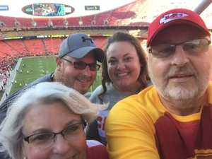 Michael D. Osgood attended Kansas City Chiefs vs. Green Bay Packers - NFL Preseason on Aug 30th 2018 via VetTix