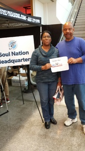 Walter attended Philadelphia Soul vs. Albany Empire - IFL on May 19th 2018 via VetTix