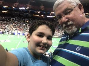 Jeff attended Philadelphia Soul vs. Albany Empire - IFL on May 19th 2018 via VetTix