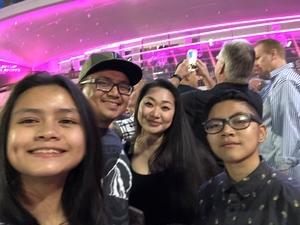 Miguel attended U2 Experience + Innocence Tour on May 12th 2018 via VetTix