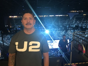 Ronnie attended U2 Experience + Innocence Tour on May 12th 2018 via VetTix