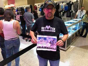 Eric attended U2 Experience + Innocence Tour on May 12th 2018 via VetTix
