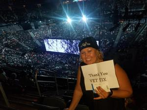 Sarah attended U2 Experience + Innocence Tour on May 12th 2018 via VetTix