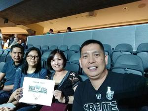 FERMIN attended U2 Experience + Innocence Tour on May 12th 2018 via VetTix