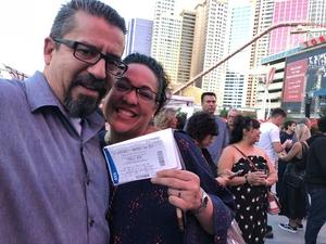 Jerry attended U2 Experience + Innocence Tour on May 12th 2018 via VetTix